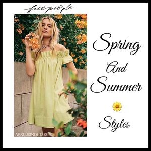 FREE PEOPLE BOHO STYLES SPRING AND SUMMER A2C